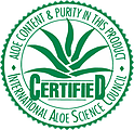 Forever Living Products Aloe Certified Certification